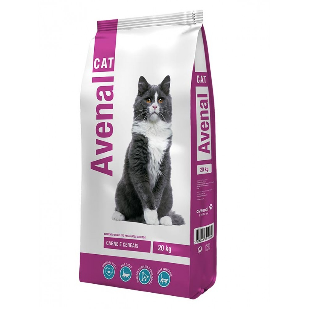 AVENAL Cat Carne 20 Kgs